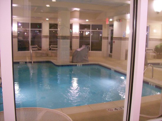 Indoor Swimming Pool And Hot Tub Picture Of Hilton