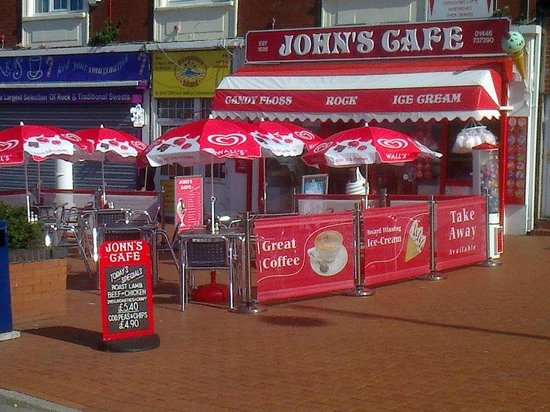 ‪‪Barry‬, UK: Johns Cafe Barry Island‬