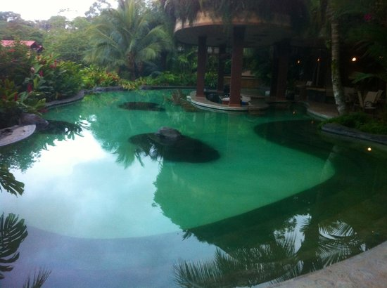 The Springs Resort and Spa: The swim up bar pool