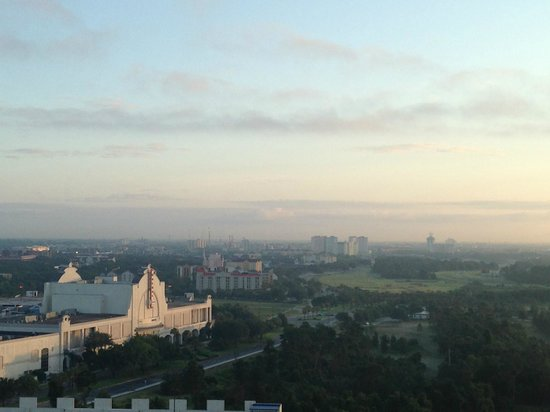 The Peabody Orlando: View from floor 19