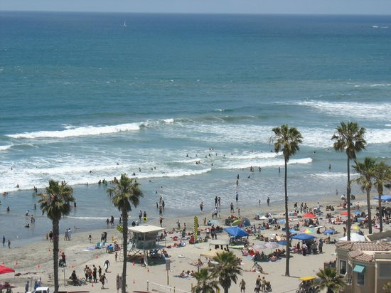 Wyndham Oceanside Pier Resort: ocean view