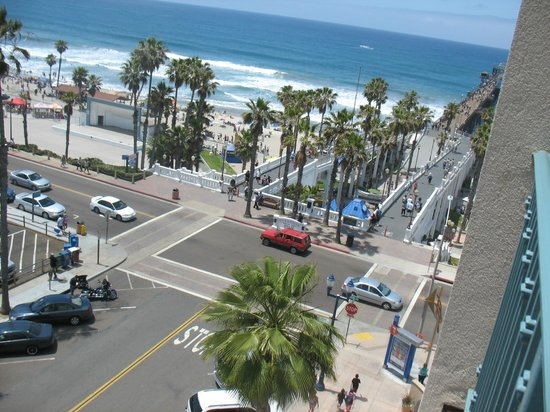 Wyndham Oceanside Pier Resort: View from 7th Floor