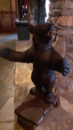 Grand Bohemian Hotel Asheville, Autograph Collection: Give me a bear hug (lobby fireplace!)