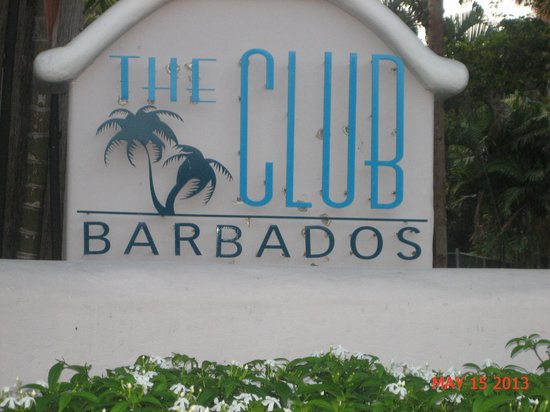 The Club, Barbados Resort and Spa: the front entrance