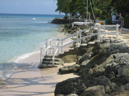 The Club, Barbados Resort and Spa: the private beach
