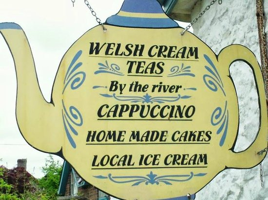 """Penybont, UK: A welcome """"sign"""""""