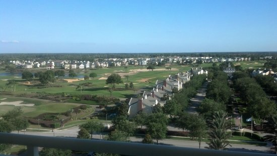 Reunion Resort & Club Wyndham Grand Resort: From my room...