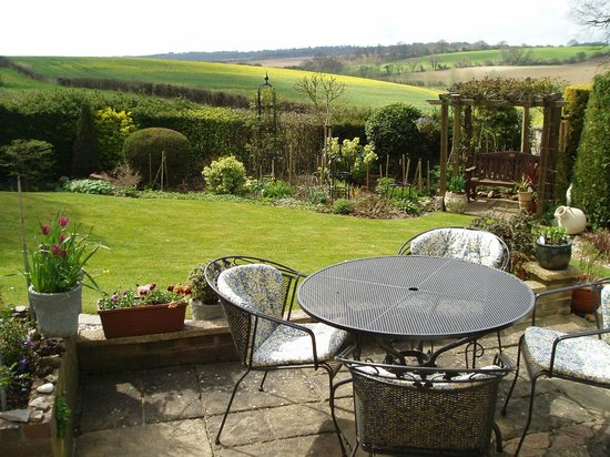Hungerford, UK: Garden View