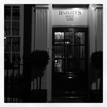 Hazlitt's: The front door