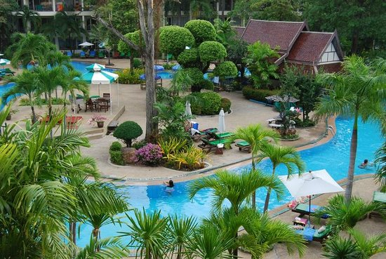 Green Park Resort: Вид из номера