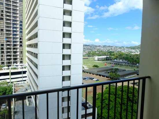 Hyatt Place Waikiki Beach: 部屋からの景色