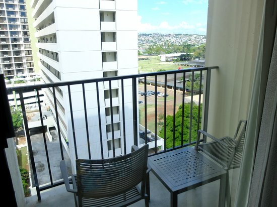 Hyatt Place Waikiki Beach: ラナイ