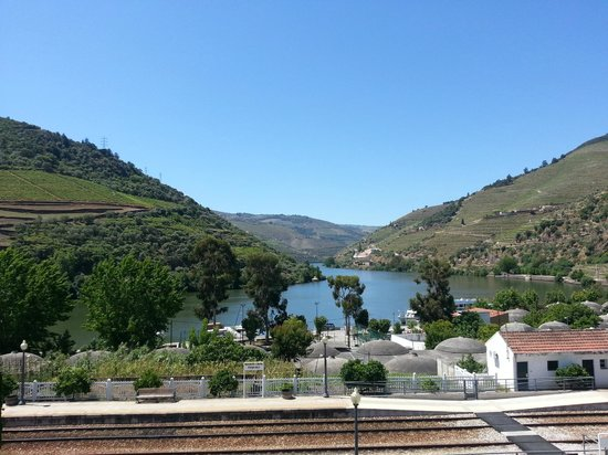 Hotel Douro: View from our front facing room