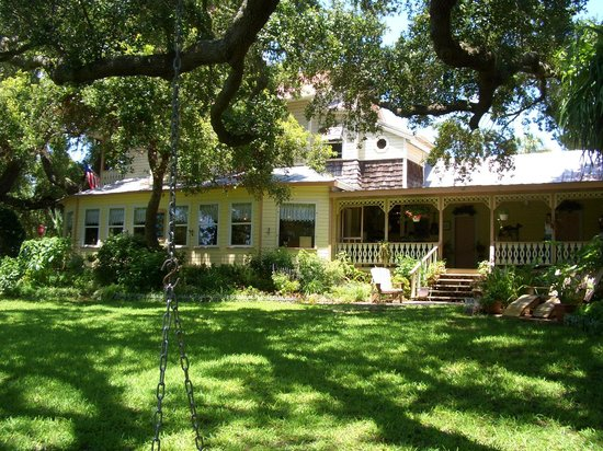 Cedar Key, Floryda: Delightful B&B - built for the Eagle Pencil Company's superintendent in 1880