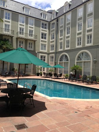 Bourbon Orleans Hotel: pool are