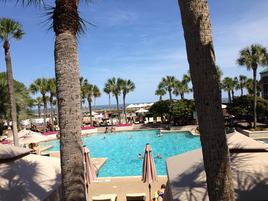 The Westin Hilton Head Island Resort & Spa: A beautiful resort on a beautiful day!
