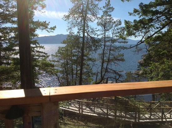 Rockwater Secret Cove Resort: View from our suite