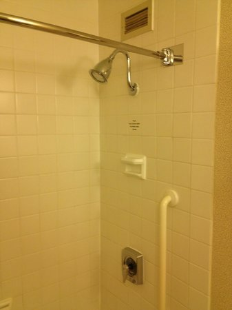 Marriott Chicago Downtown Magnificent Mile: Room 1428 Shower