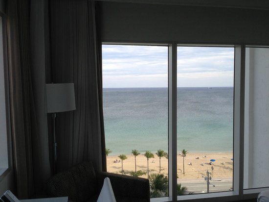 B Ocean Fort Lauderdale: View from Room