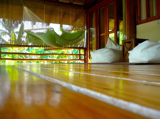 Pranamar Villas and Yoga Retreat: our beloved second level serenity deck @ our villa