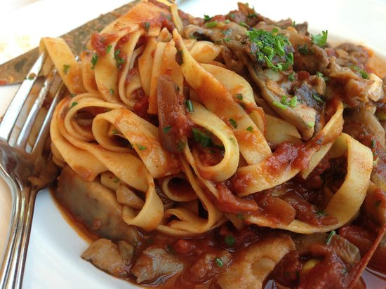 Langley City, Kanada: Tagliatelle with Mushrooms