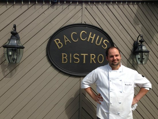 Langley City, Kanada: One of the Bistro's Chefs, John