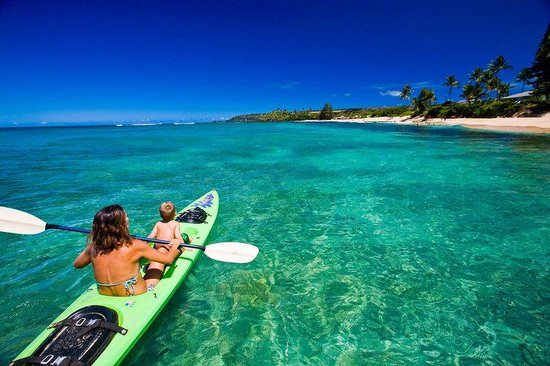 Kona Seaside Hotel: Kayak Blue Waters HTA
