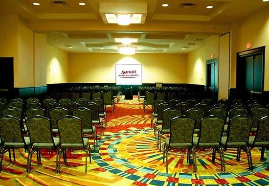 St. Petersburg Marriott Clearwater : Clearwater Ballroom - Theater Style