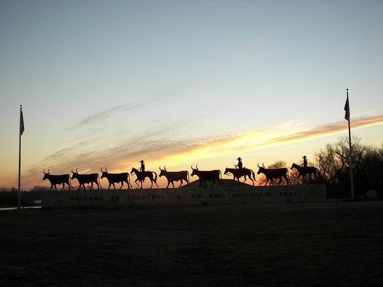 BEST WESTERN Smithfield Inn: Cattle Drive Sunrise