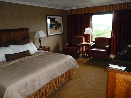 The Grove Park Inn: mountain view room