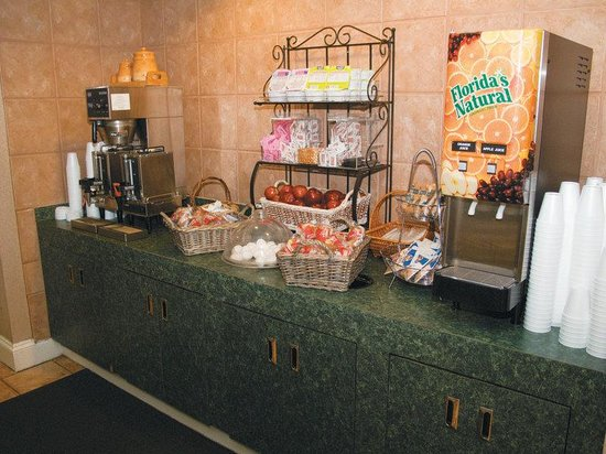 La Quinta Inn Jackson North: Breakfast Area