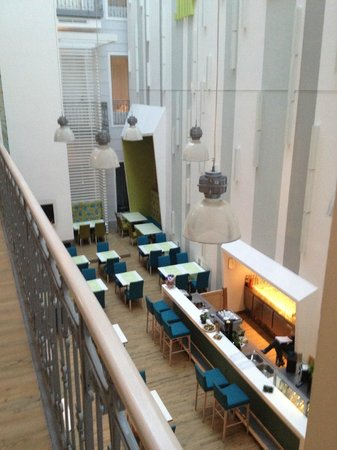 Atrium Fashion Hotel: dinner /breakfast
