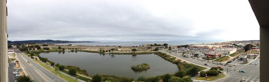 Seaside, CA: Morning view from room balcony