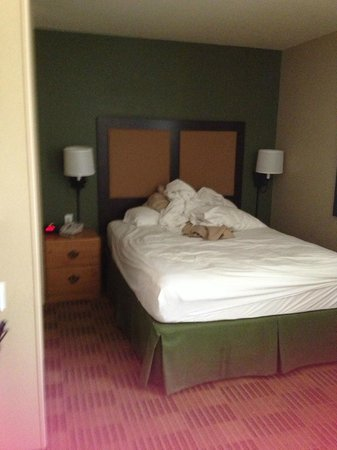 Extended Stay America - Washington, D.C. - Fairfax: a queen size bed