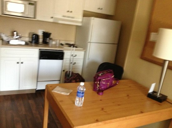 Extended Stay America - Washington, D.C. - Fairfax: the disc and the kithcen