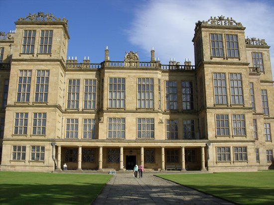 Derbyshire, UK: Hardwick Hall front