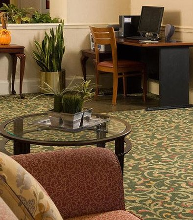 Fairfield Inn Greenville-Spartanburg Airport: Business Center