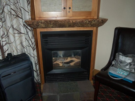The Edgewater Hotel Seattle: Fireplace