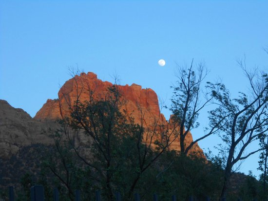 Best Western Zion Park Inn: View from the Pool