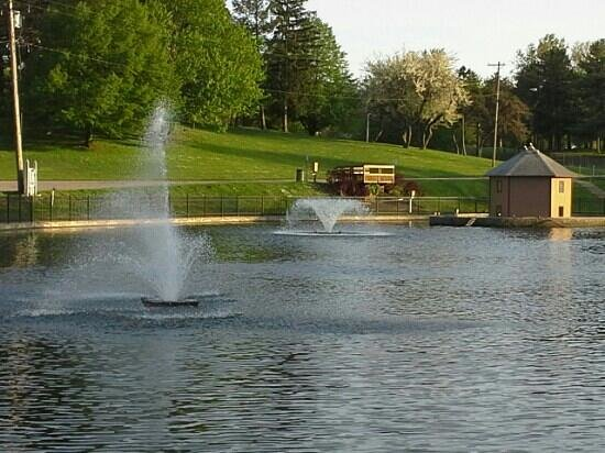 Ashtabula, OH: view of the duck pond!