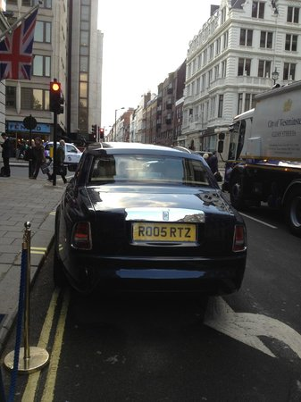 The Ritz London: The Hotel Car