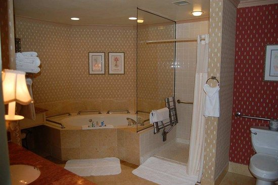 DoubleTree by Hilton Hotel Sonoma Wine Country: Accessible Bathroom