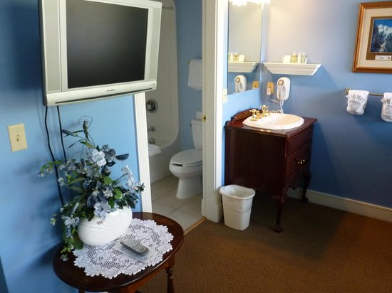 Grand Victorian Lodge: The bathroom area