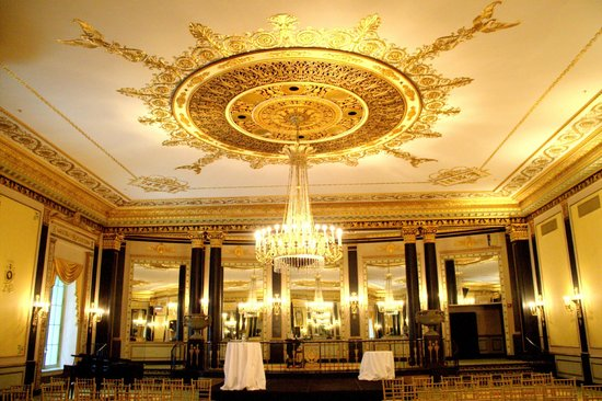 The Palmer House Hilton: Function room used for the wedding