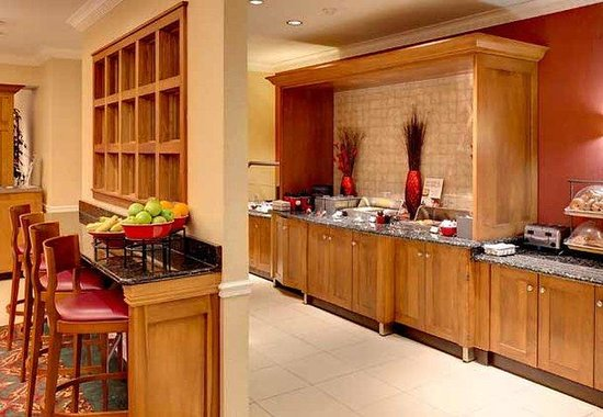 Residence Inn Rochester: Breakfast Bar