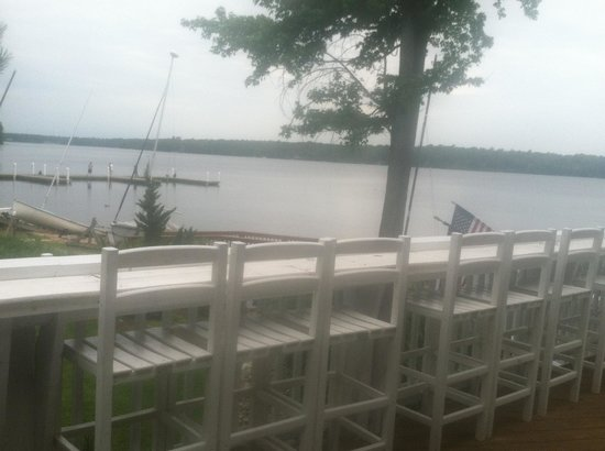 Midlothian, VA: Viewof the lake from outdoor bar