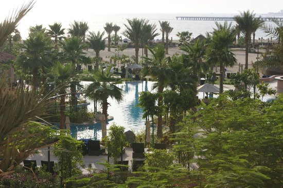 The Ritz-Carlton Dubai: View from our room