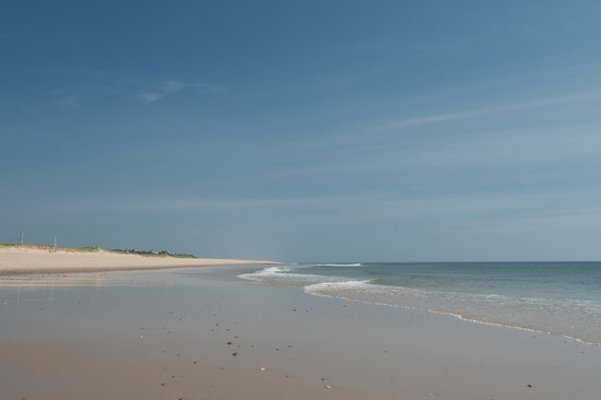 East Orleans, MA: Nauset beach, just over one mile
