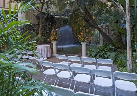 Crowne Plaza Hotel San Diego - Mission Valley: Say I Do amongst our waterfall and lagoons