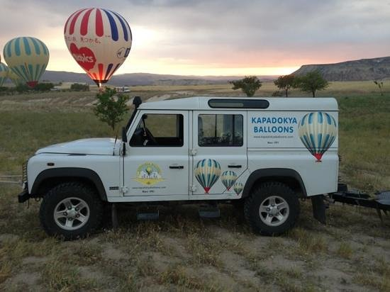 Hezen Cave Hotel: hezen set up up with an amazing balloon ride - one for the bucket list!